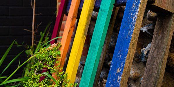 jardin ideas pallet